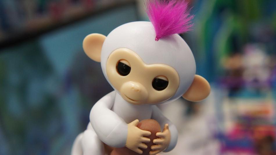 Hold my finger tiny monkey.