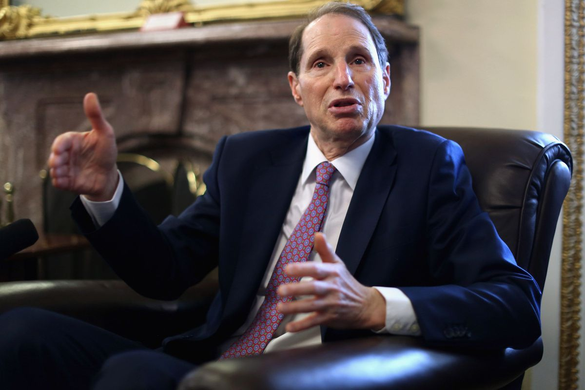 Sen. Ron Wyden just can't believe this.