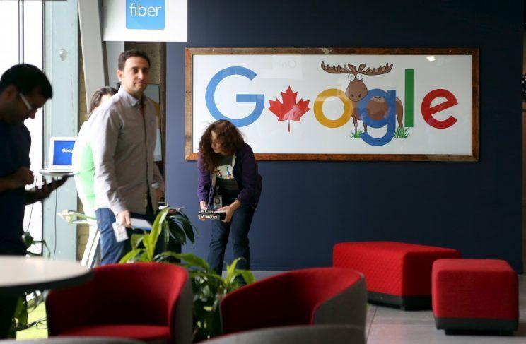 Google's Canadian engineering headquarters in Kitchener-Waterloo, Ontario seen on January 14, 2016. (Reuters)