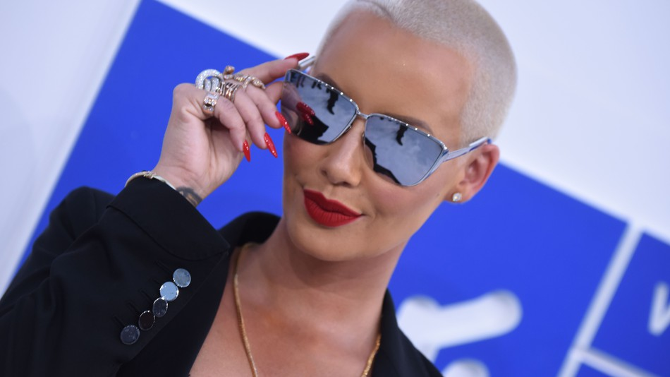 Amber Rose's 'fire ass feminist post' too hot for Instagram