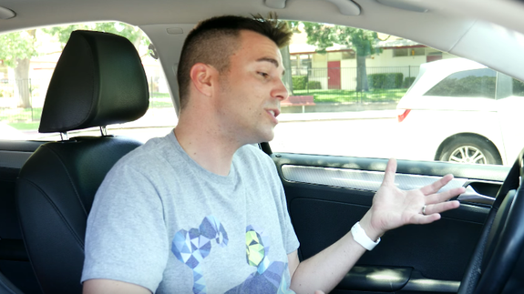 Car horns are weirdly aggressive, so this guy made a friendlier version