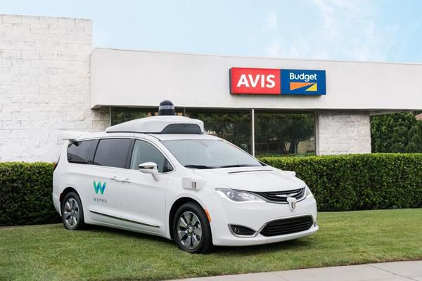 Car rental companies are nervous about driverless cars, so they're doing something about it