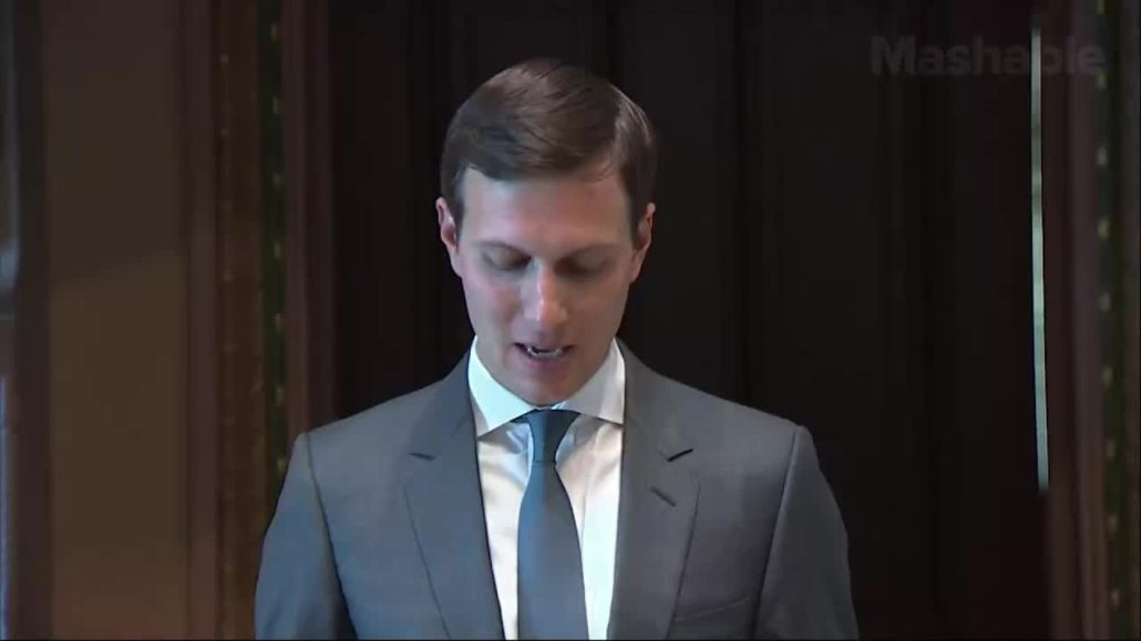 Department of Defense still uses 8-inch floppy disks and other disturbing details from Jared Kushner's speech