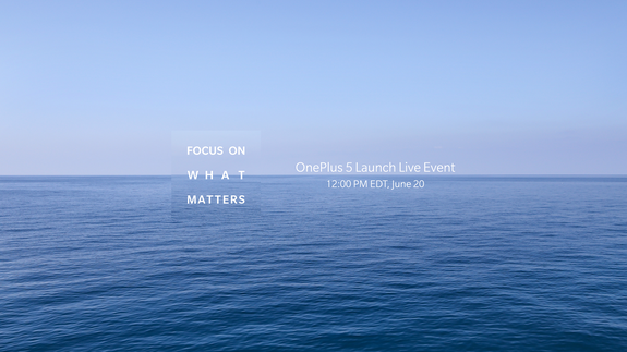 Don't forget to tune into the OnePlus live launch
