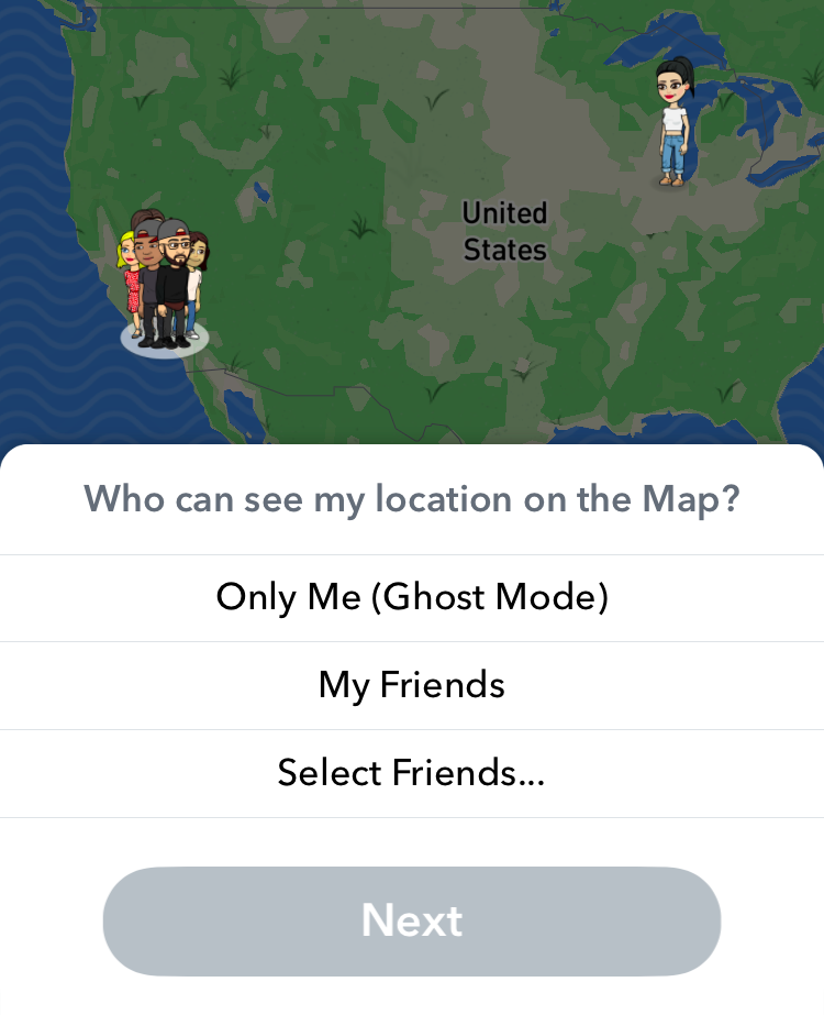 'Snap Maps' are prime territory for FOMO and lurking