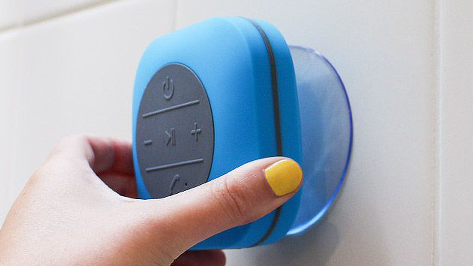 This $20 shower speaker could be what your bathroom's missing