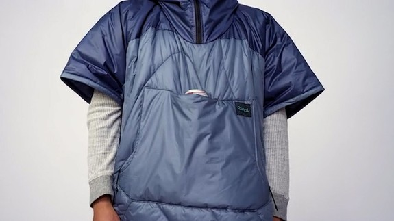 This camping poncho has you covered