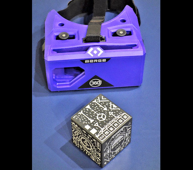 Merge VR Goggles With Merge Cube