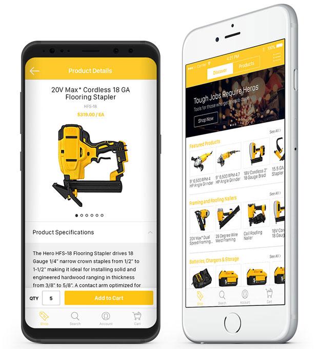 InsiteCommerce mobile