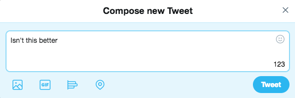 Ditch Twitter's annoying new character-count circle with this Chrome