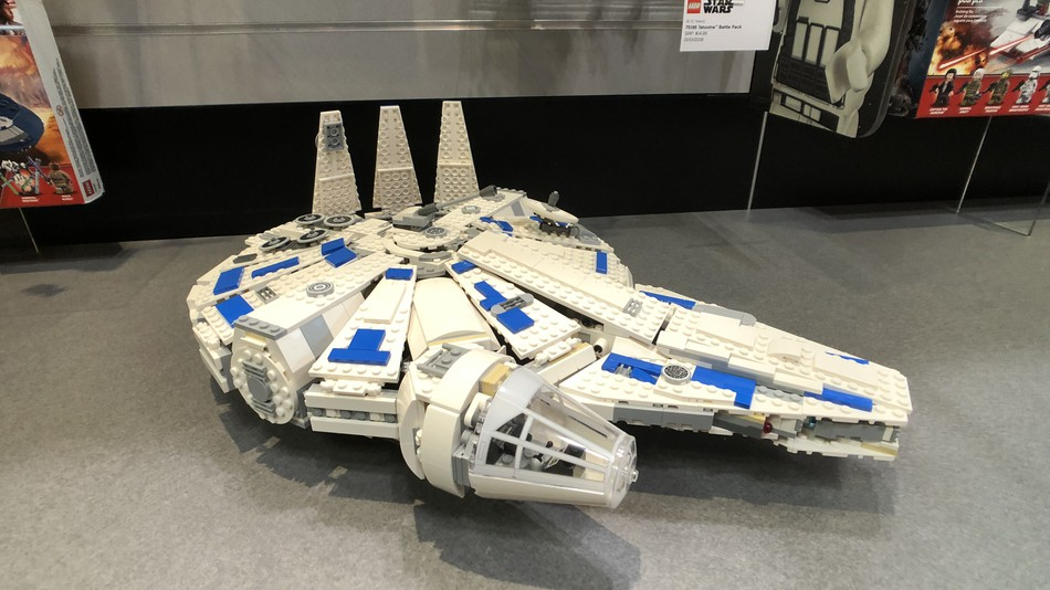 "Lego's new Kessel Run Millennium Falcon comes out in April, a month before ""Solo: A Star Wars Movies"" releases in theaters."