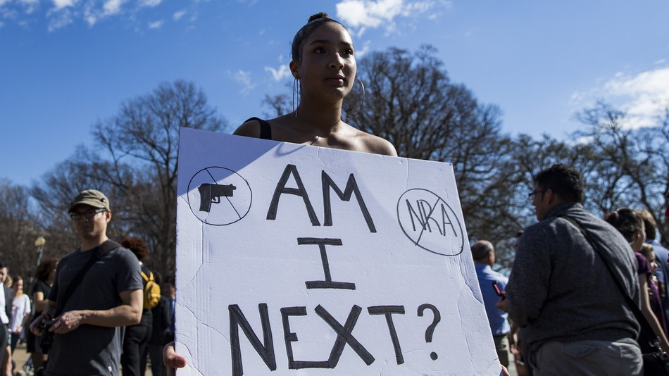 Teens across the country are making their voices heard in the gun control debate.