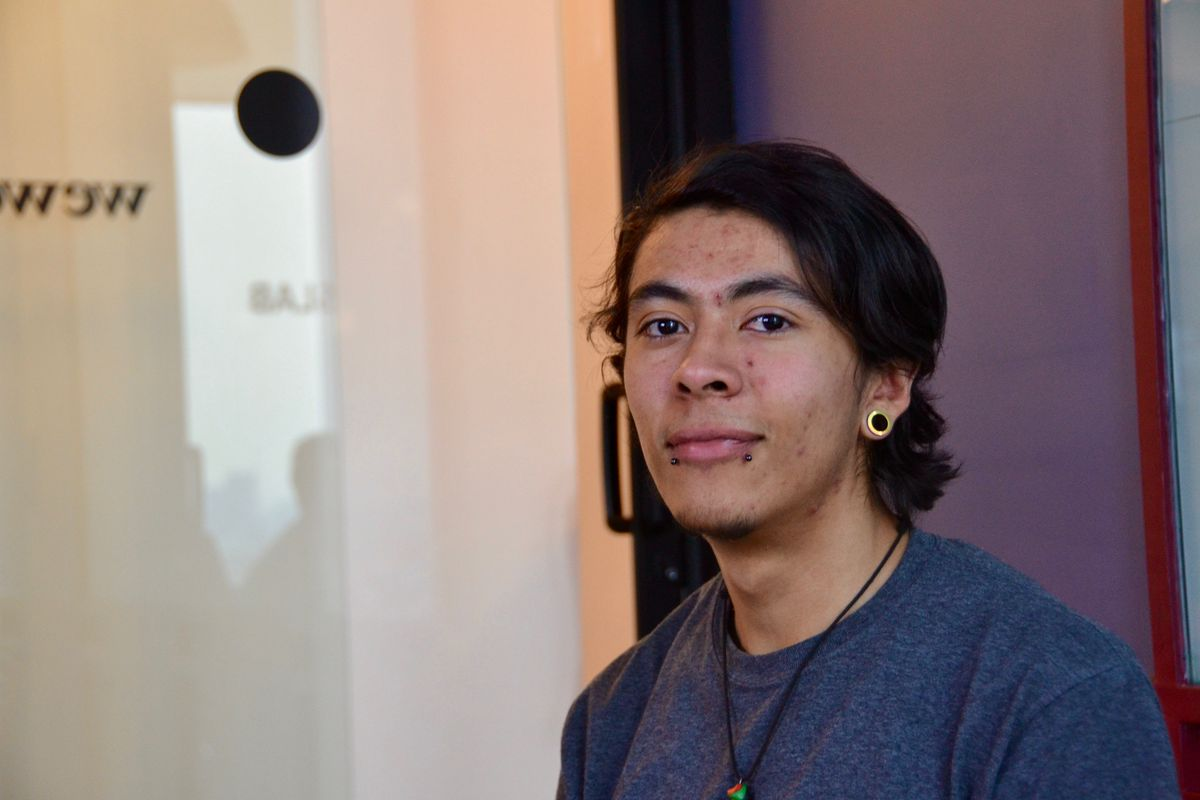 Jorge Cervantes, a 20-year-old student at Hola Code.