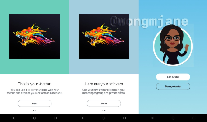Facebook Avatars' is its new clone of Snapchat's Bitmoji