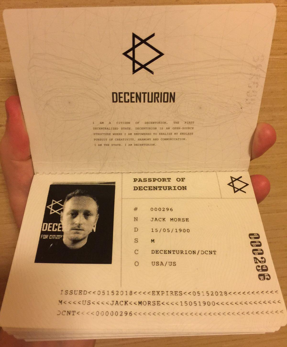 My passport.