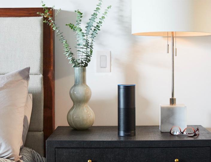 The Amazon Echo Plus.