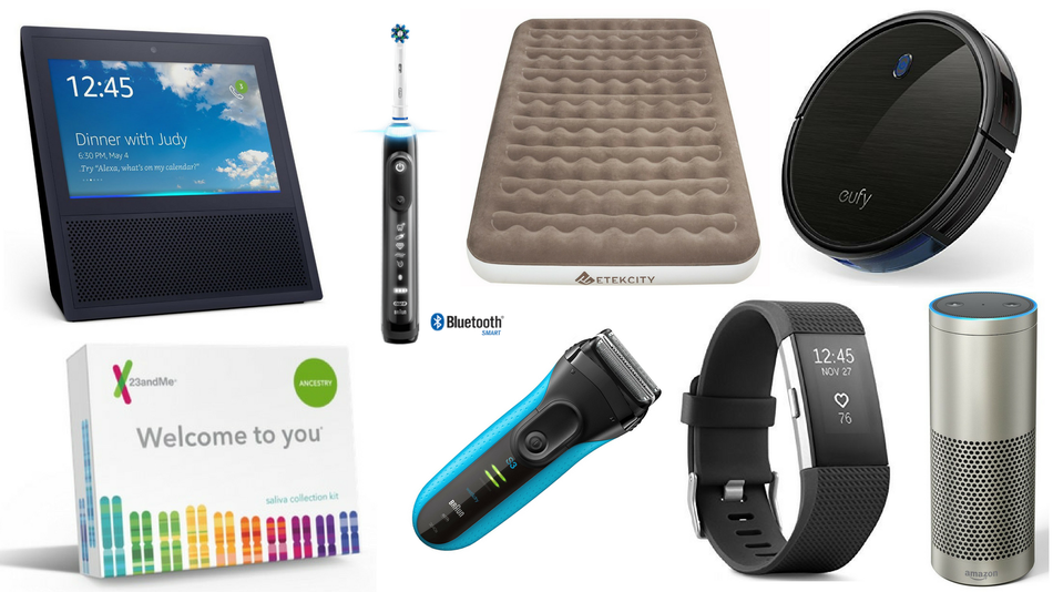 The Kindle Paperwhite, electric razors, and metal detectors are also on sale.