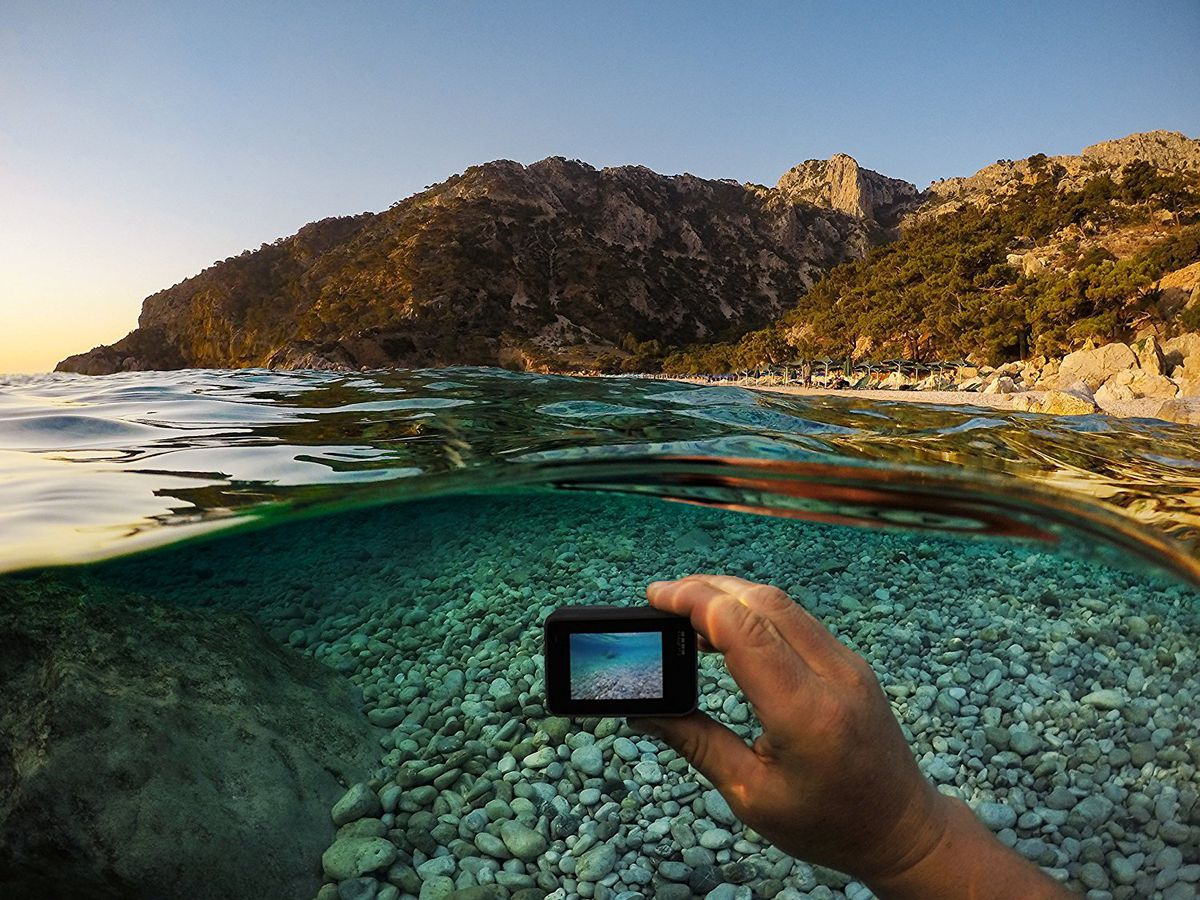 Save $150 on the GoPro HERO5 camera.