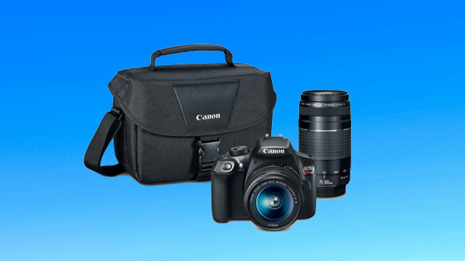 Upgrade your Instagram game with this DSLR camera.