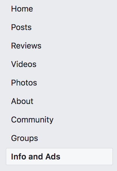 Facebook launched the Info and Ads tab in an effort to be more transparent.