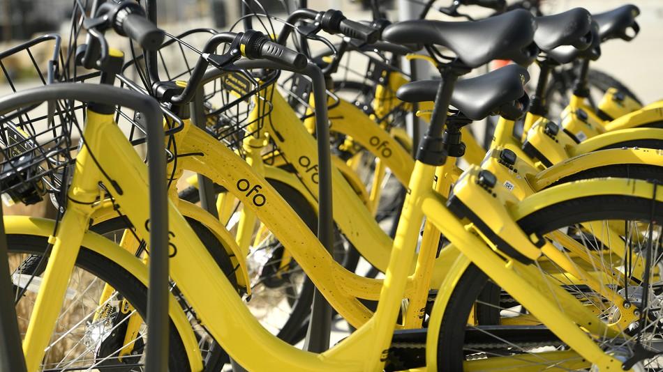 We'll be seeing fewer yellow Ofo bikes around the U.S.