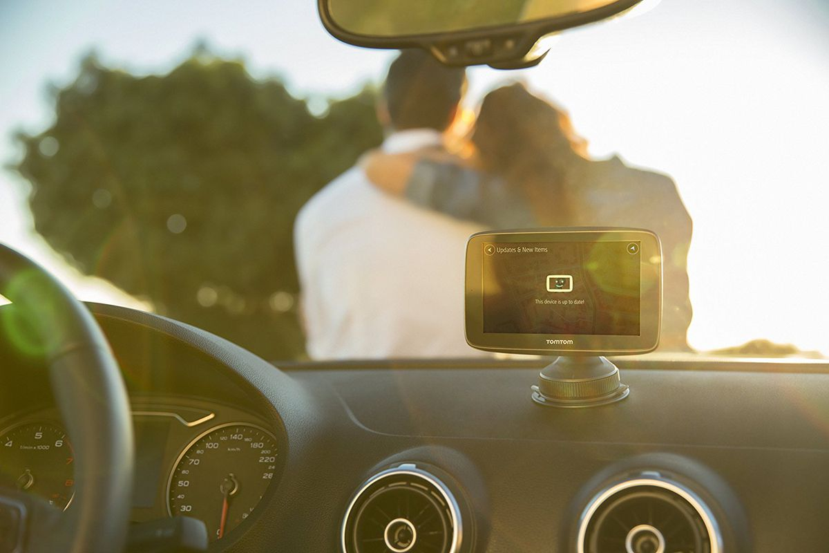 Go around the world with TomTom.