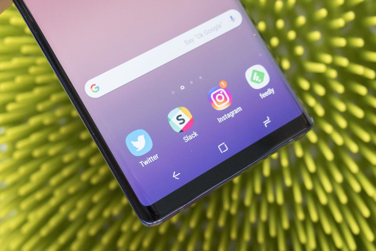 Wish the Note 9 came with Android 9 Pie.