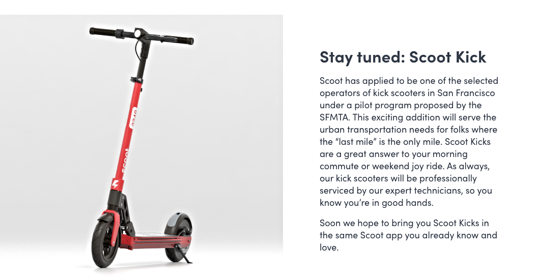 Scoot won a coveted permit to oeprate e-scooters in San Francisco.