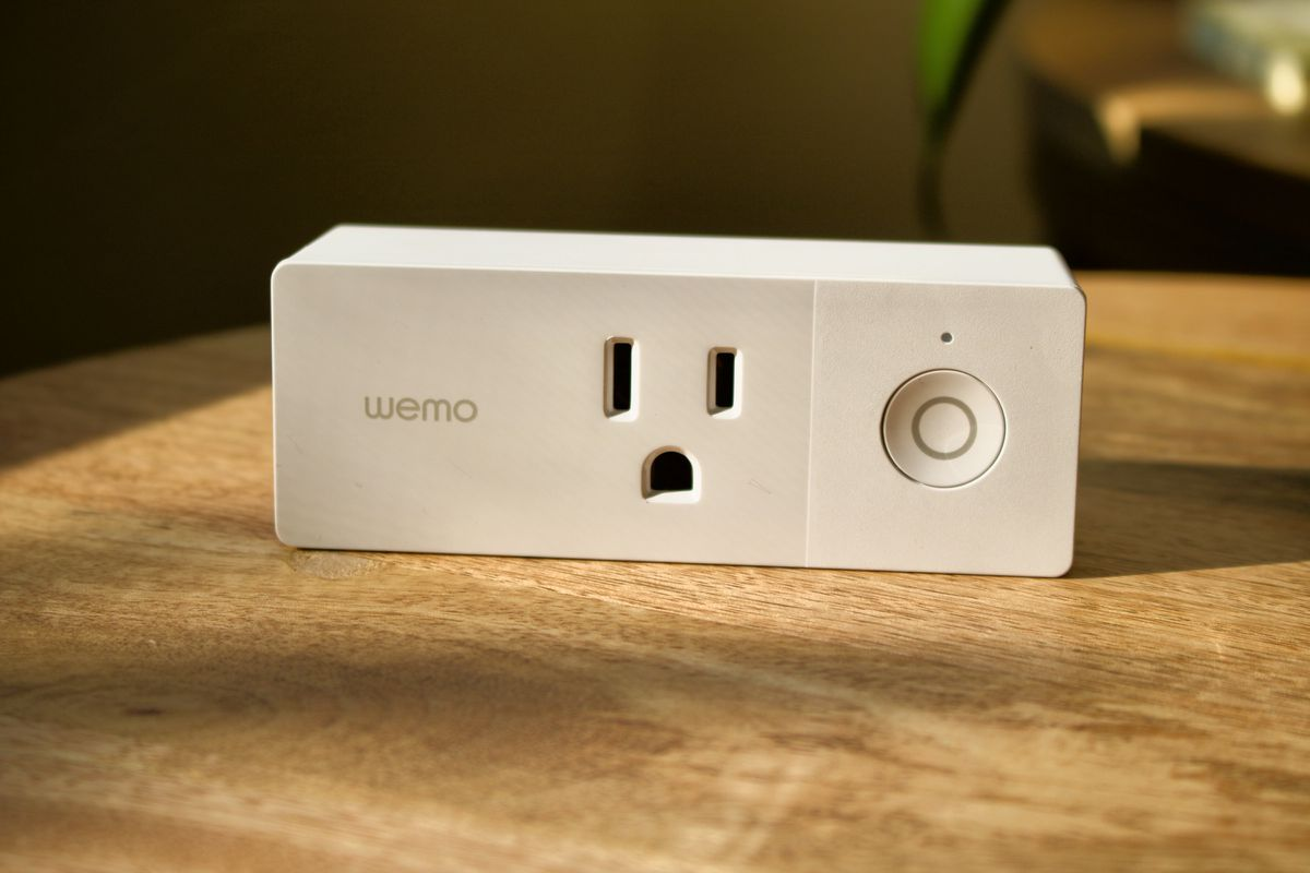 The WeMo Mini is excellent at making older appliances smart ones.