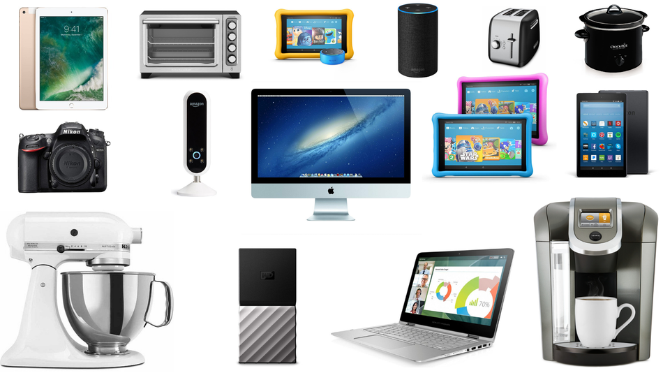 Save on electronics, kitchen appliances, and more.