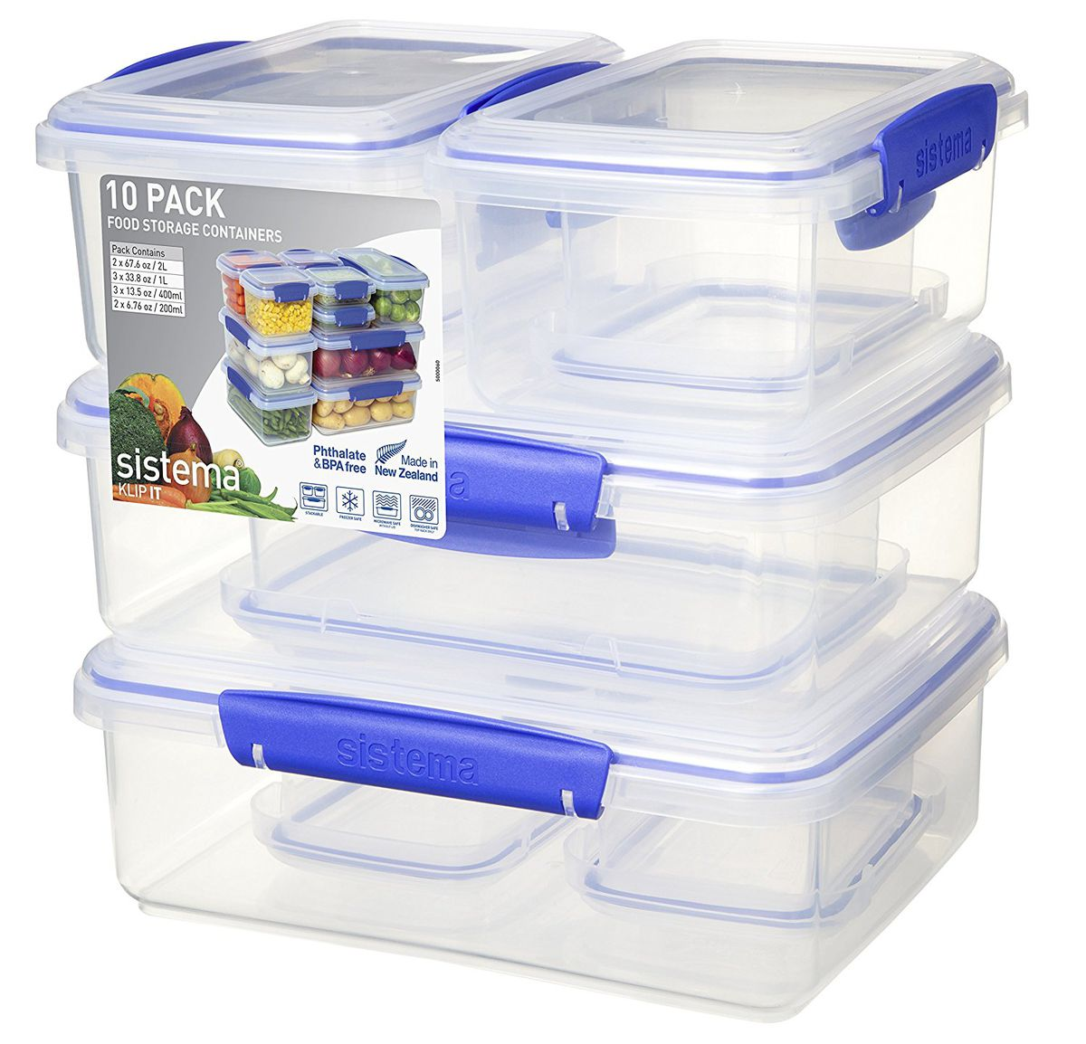 Sistema KLIP IT food storage containers are down to £10.99.