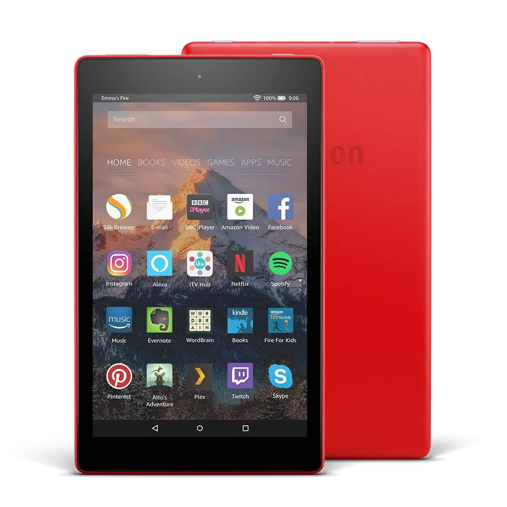 The Fire HD 8 tablet with Alexa is on sale for under £60.
