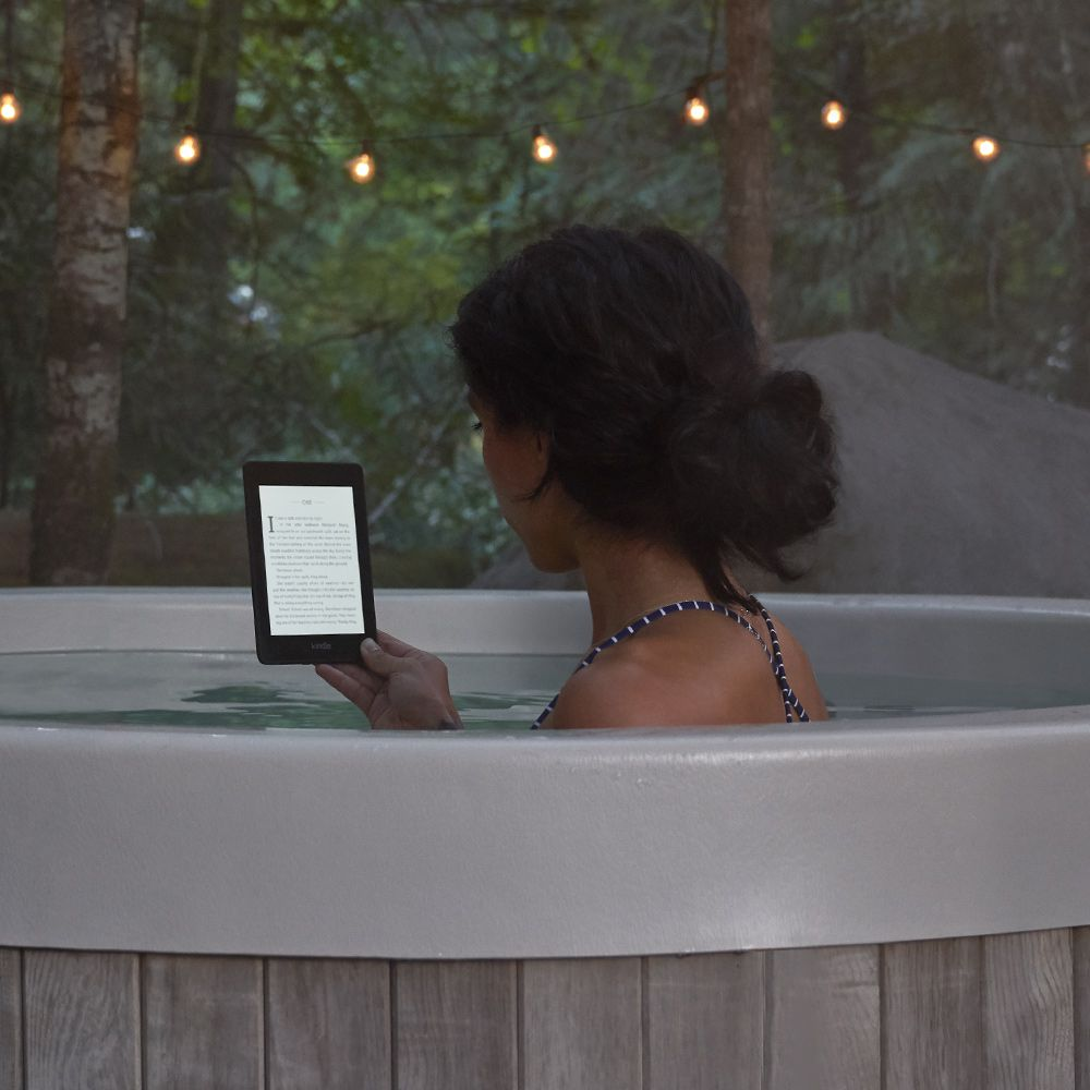 The Amazon Kindle Paperwhite is now waterproof.