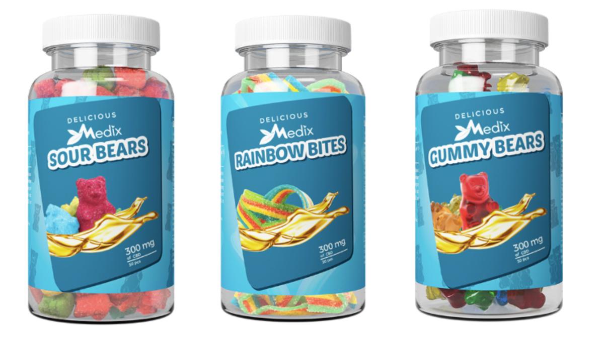 CBD comes in gummies too.