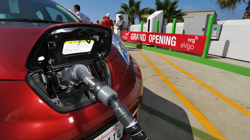 Quick: Find a plug to charge your EV.