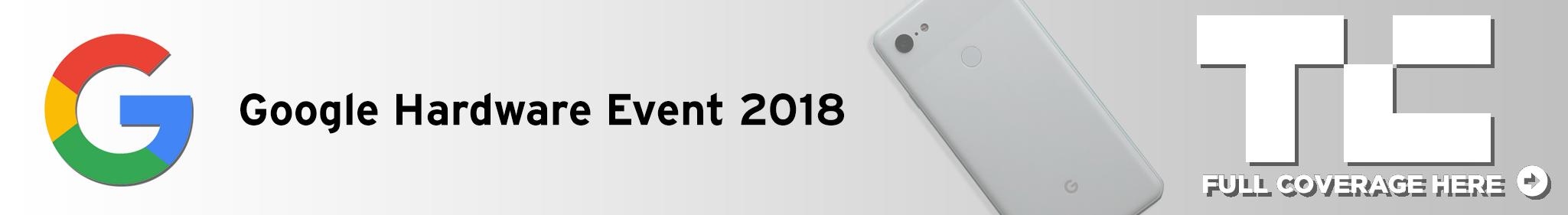 more Google Event 2018 coverage