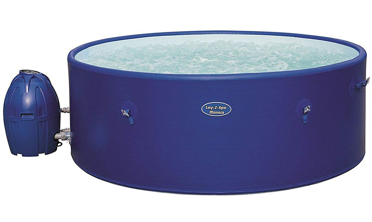 The Lay-Z-Spa Monaco hot tub is on sale.