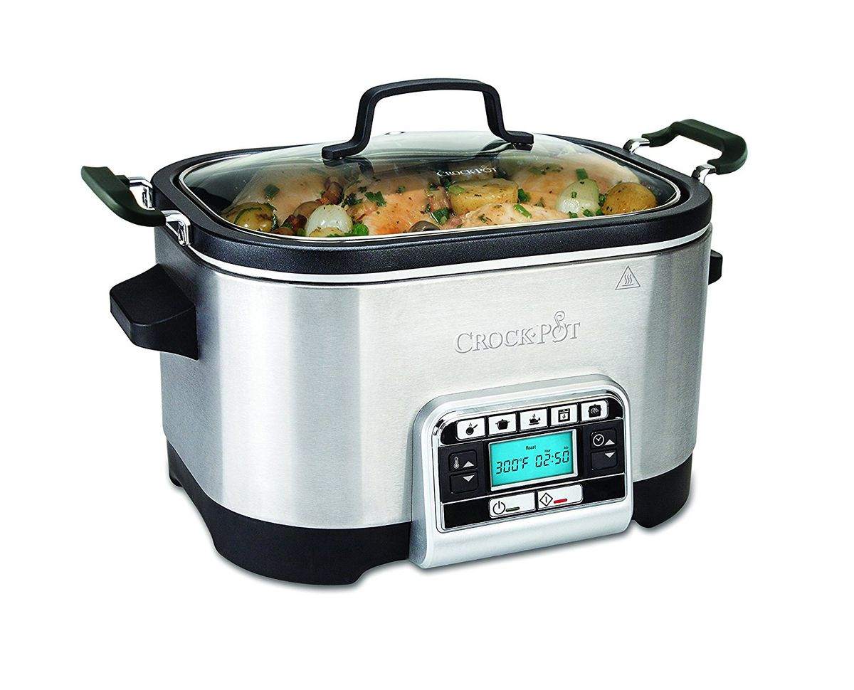 The Crock-Pot multi-cooker is available for under £80.