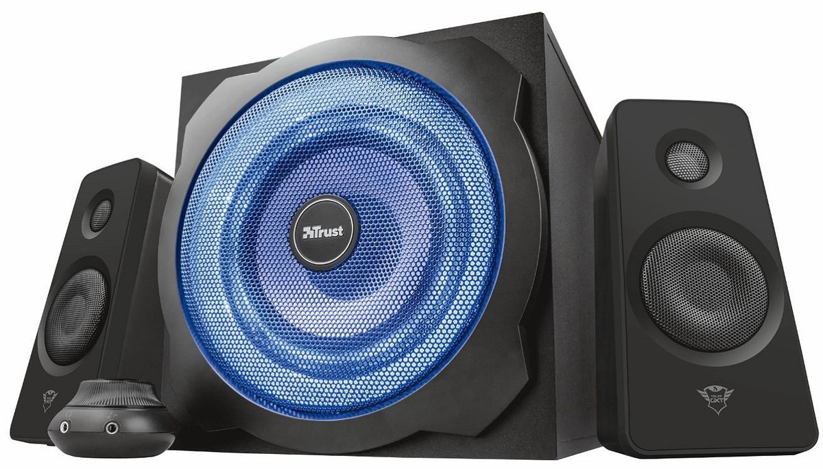 The Trust PC gaming speaker system is down to £59.99.