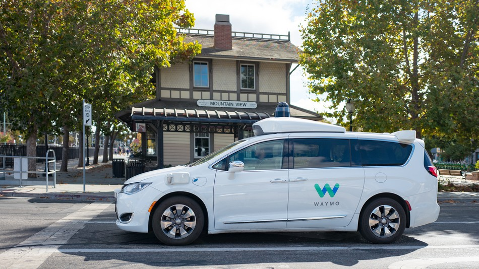 Waymo beating out the competition in California.