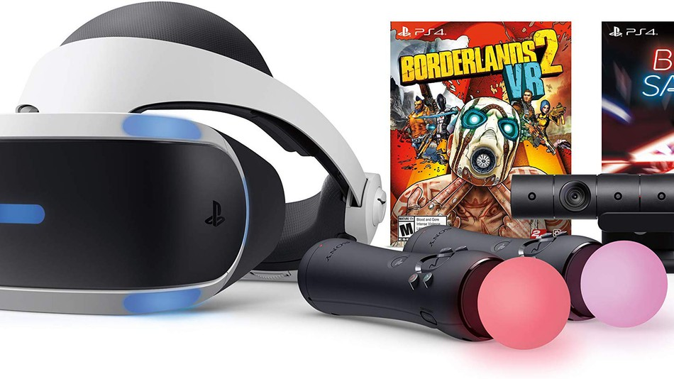 A VR system *and* two fantastic games? Yes, please.