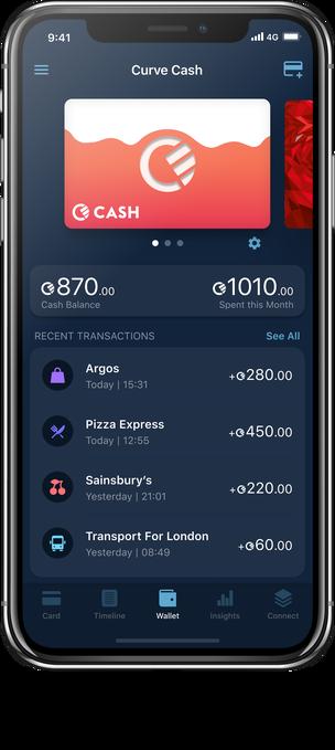 Curve Cash in App 1