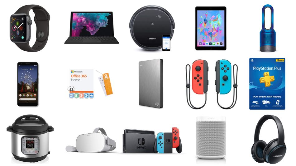 Great savings on Nintendo Switch, Dyson Pure, PlayStation Plus, Instant Pot, Bose SoundLink, and more.