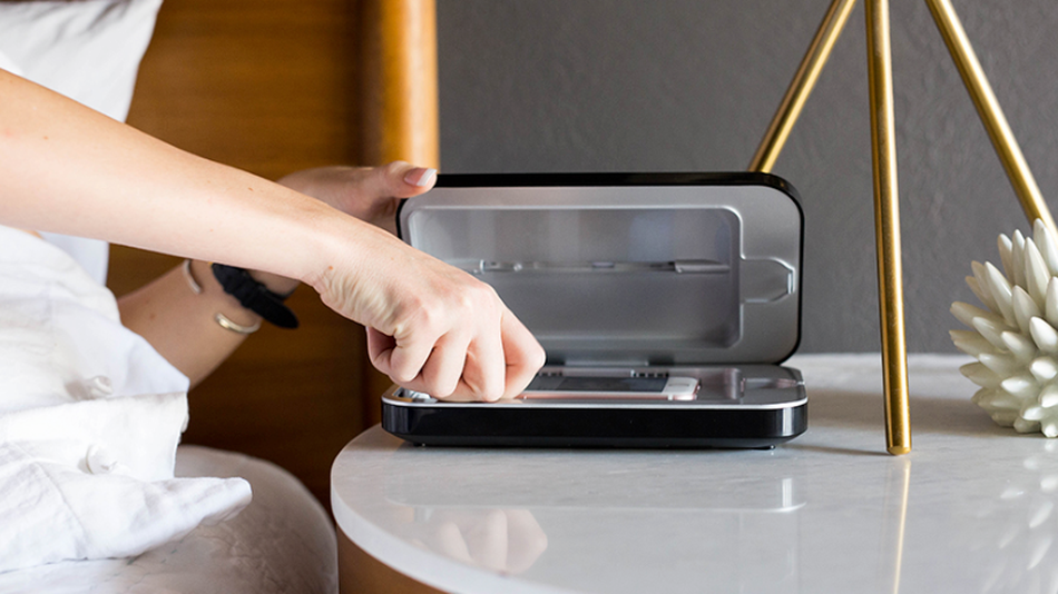 These devices charge and sanitize your phone at the same time.