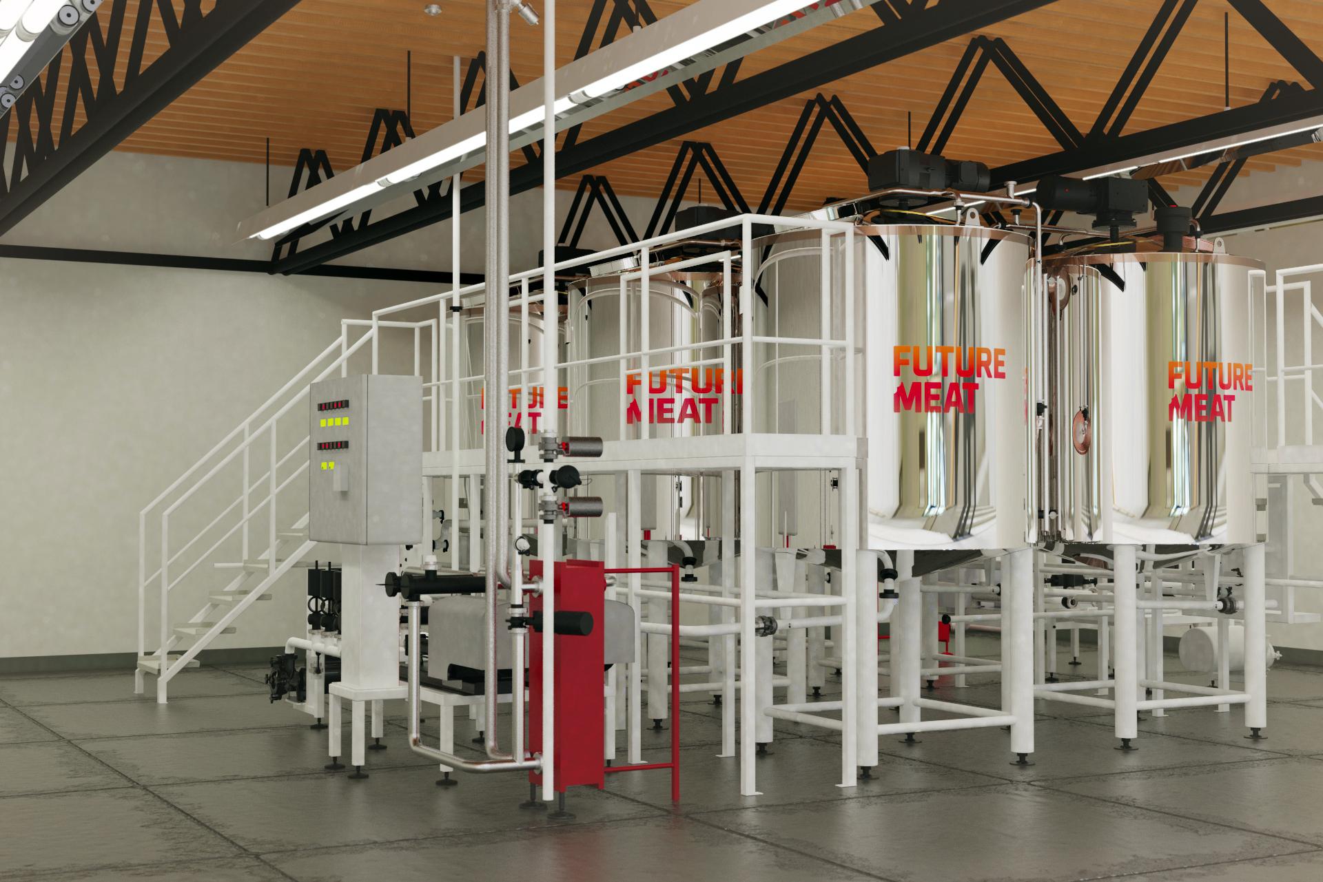 Future Meat production module