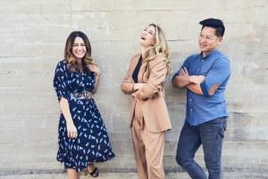 Kinside co-founders SShadiah Sigala, Brittney Barrett and Abe Han