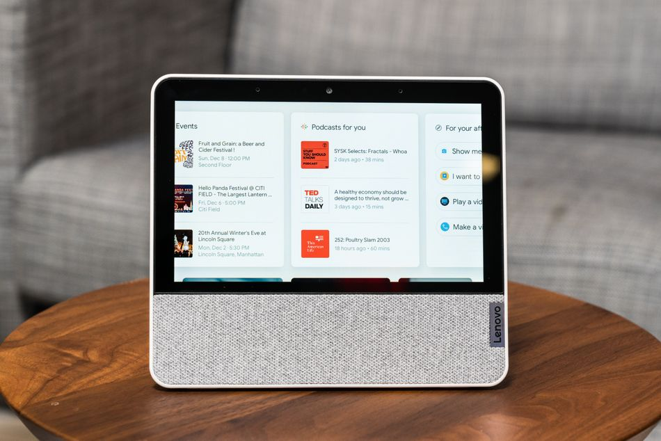 The display cards make it easy to swipe through tailored content.