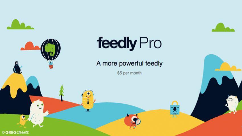 FeedlyPro Screen