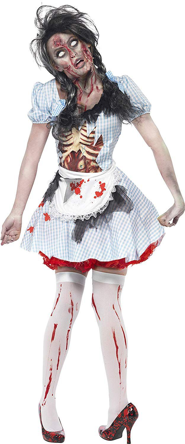 This Smiffys women's zombie countrygirl costume is down to £9.99 from £50.00.