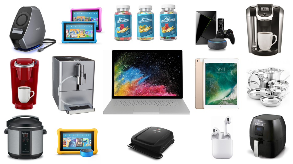 Save on computer accessories and kitchen products.